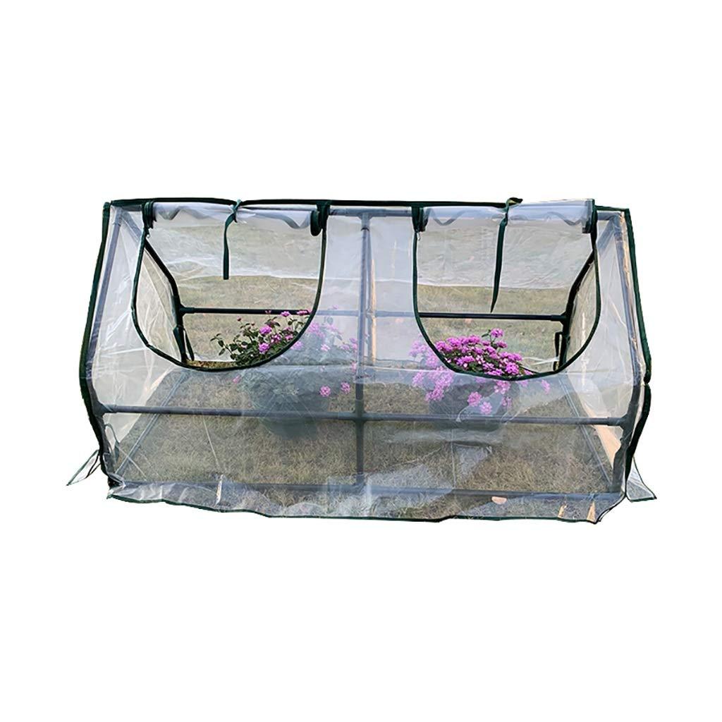フラワー温室、PE透明な温室、ポータブル温室、野菜、冬の不凍液設備 B07K5PMNJS