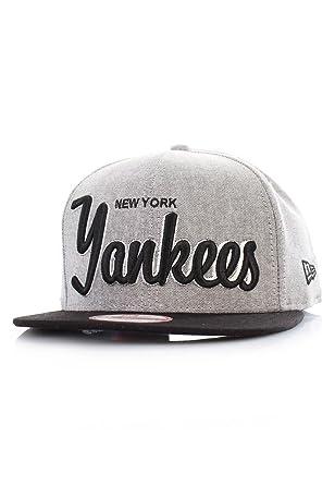 New Era – Gorra con visera plana para hombre New York Yankees 9 ...