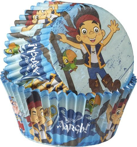 (Wilton 415-2823 50 Count Disney Jake and The Never Land Pirates Baking)