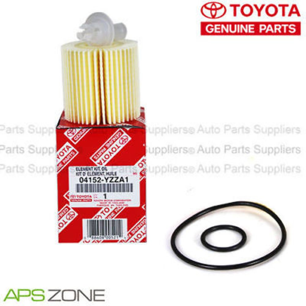 Genuine OEM Toyota Lexus Oil Filter + Drain Plug Gasket 04152-Yzza1 Set Of 3