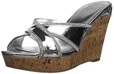 503707d25a1 Guess Women s Eleonora Wedge Sandal  Amazon.co.uk  Shoes   Bags