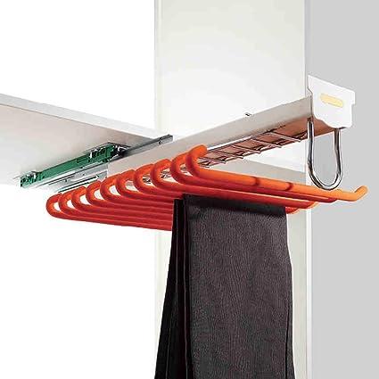 Fkdeyijia Pantalón extraíble para Pantalones Rack Perchero ...