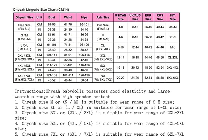 Amazon.com  ZJWZ Women s Underwear Sexy Pajamas Perspective Mesh Sling  Satin Lace Dolls M-5XL.  Clothing a1482f962