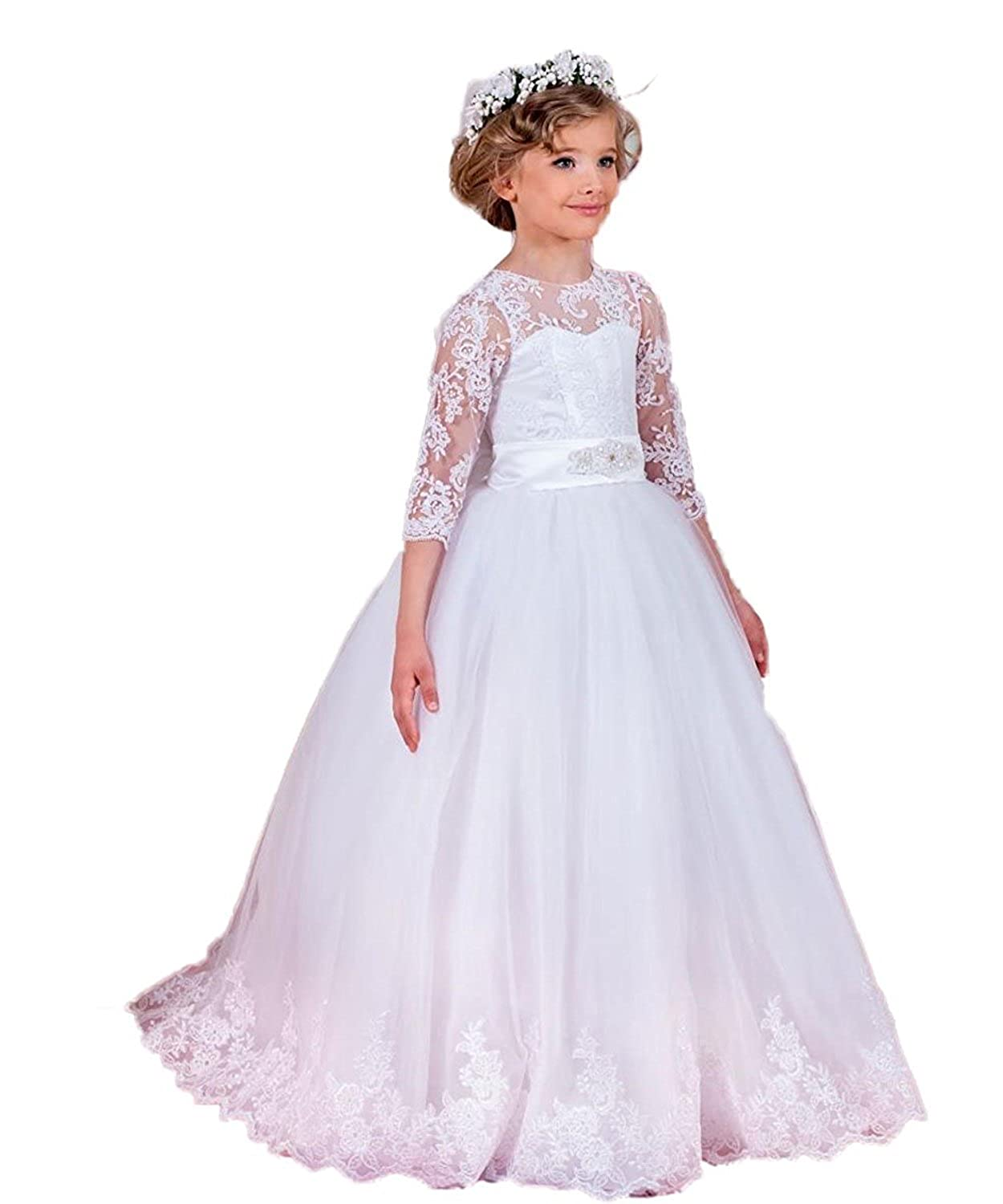 Blanc environ age 5 CoCogirls - Robe - Boule - Fille