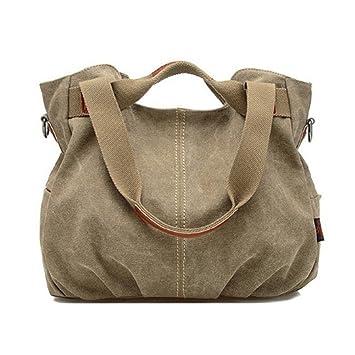 d25825bdcb6 Amazon.com   Hot Designer Handbags High Quality Women Famous Brand Shoulder Bag  Ladies Canvas Tote Bag Women Messenger Bags   Everything Else
