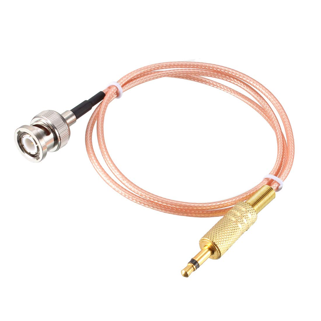 sourcing map Cable de Audio coaxial de alimentación de Macho BNC a ...
