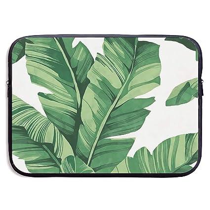 00a20fbe6a07 Amazon.com: Fashion Laptop Liner Sleeve Case Tropical Plant Banana ...