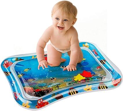 Estimular Crecimiento del Beb/é Alfombra de Juego de Agua,Almohadilla Juguete Beb/é Agua,manta agua bebe,para Beb/és y Ni/ños Peque/ños