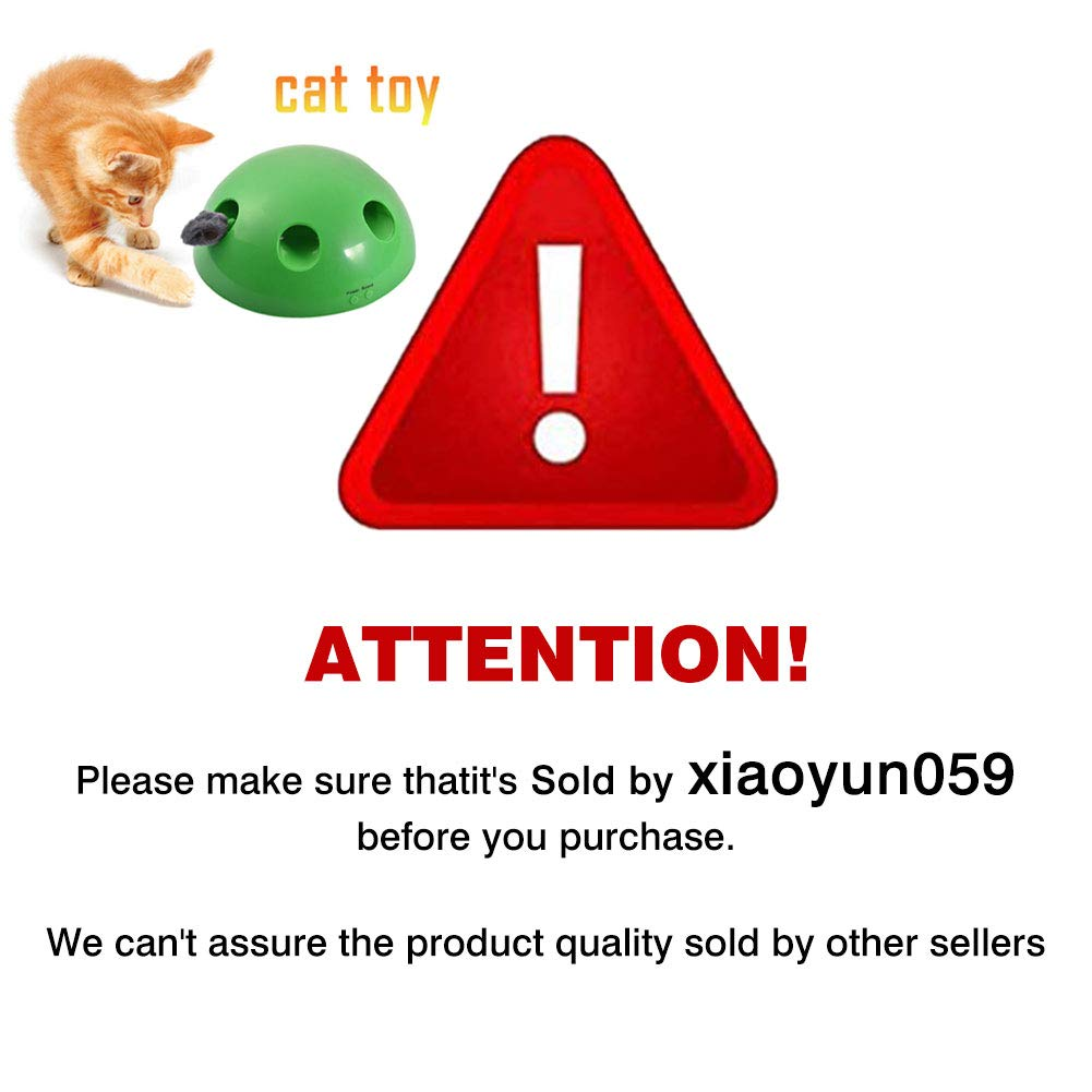 Funny Carnival Game for Kitty Pet Entertainment Pet Exercise Chaser Toy Interactive Pet Toys for Cats and Dogs QUUY Pet Toy Play Cat Toy