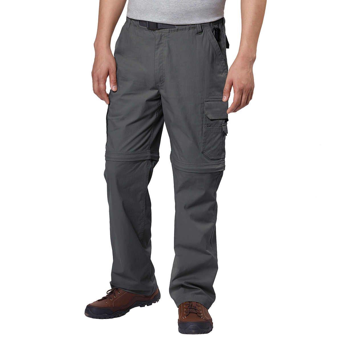 BC Clothing Mens Convertible Pant Stretch Cargo Hiking Shorts Pocket Variety