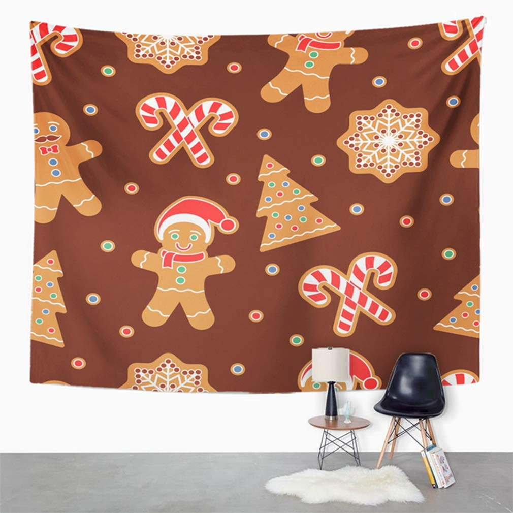 Amazon Com Emvency 50 X60 Indian Tapestry Mandala Hippie Wall