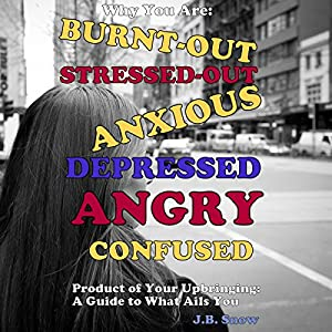 Why You Are Burnt-Out, Stressed-Out, Anxious, Depressed, Angry and Confused: Product of Your Upbringing: A Guide to What Ails You Audiobook