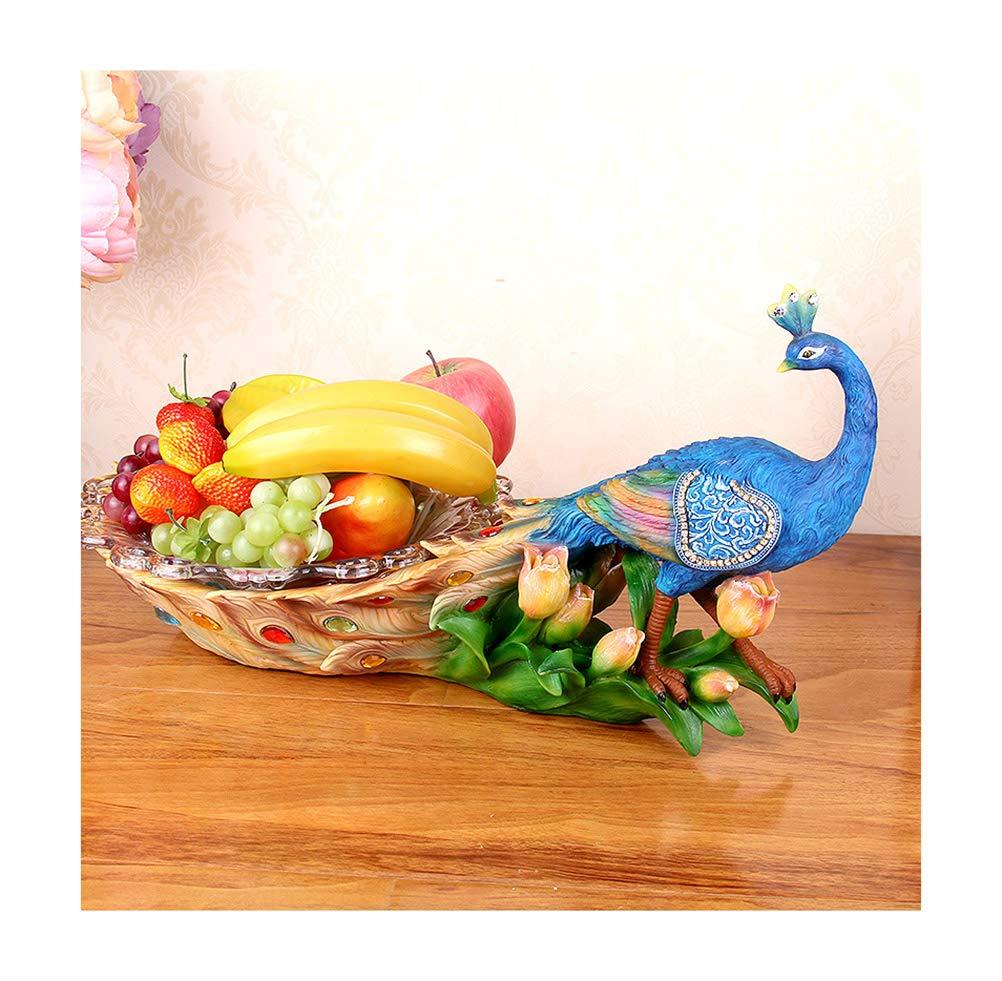 PANGU-ZC フルーツバスケットヨーロッパガラスフルーツプレートフルーツ皿装飾フルーツトレイリビングルーム装飾ボックスギフトコンポート   B07NGLLDWM