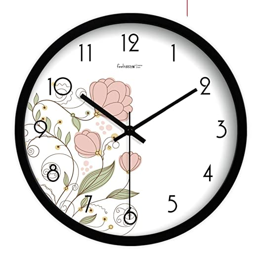 Amazon.com: DIDIDD European Silent Wall Clocks/ Garden Clock Table/ Fashion Creative Living Room Wall Charts: Sports & Outdoors