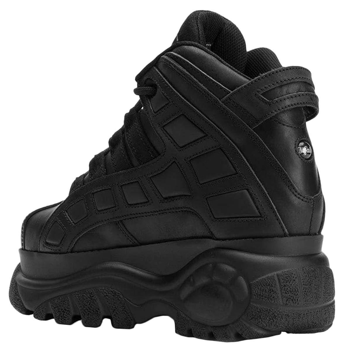 Boots Classic Black 14 Leather London Plateau Buffalo 2003 3jRA54L