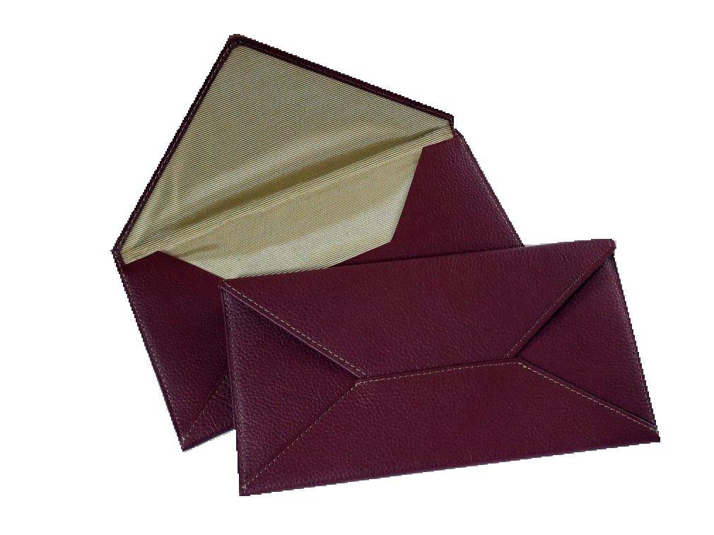牛革セレモニーケース 袱紗(ふくさ) B074J4SGH3 ワイン×ゴールド ワイン×ゴールド