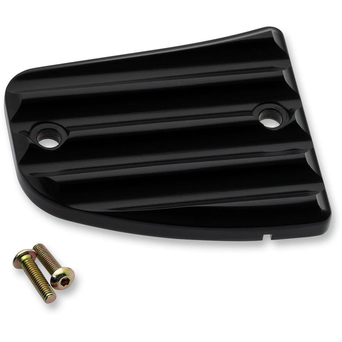Joker Machine 30-380-1 Front Brake Master Cylinder Cover - Finned - Black Anodized