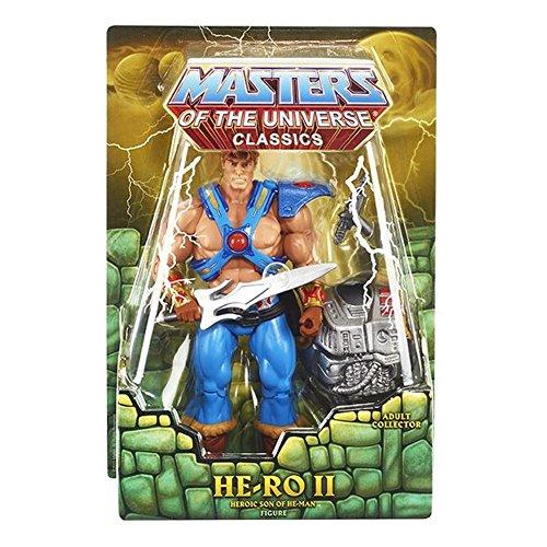 Motu He Man Masters - Masters of the Universe Classics Club Eternia He-Ro II Action Figure