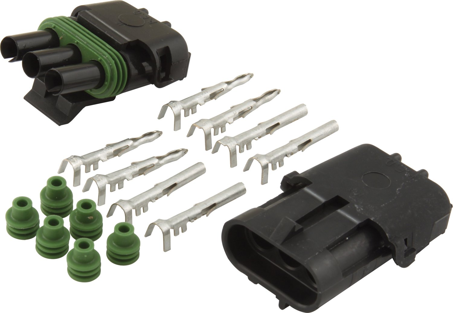 Allstar ALL76266 2-Wire Weather Pack Individual Connector Kit
