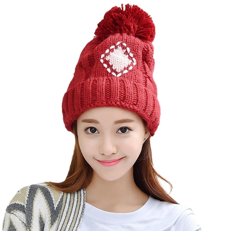 DEESEE Beanie Hat 1PC Women Lady Girls Warm Knitted Hats Cap