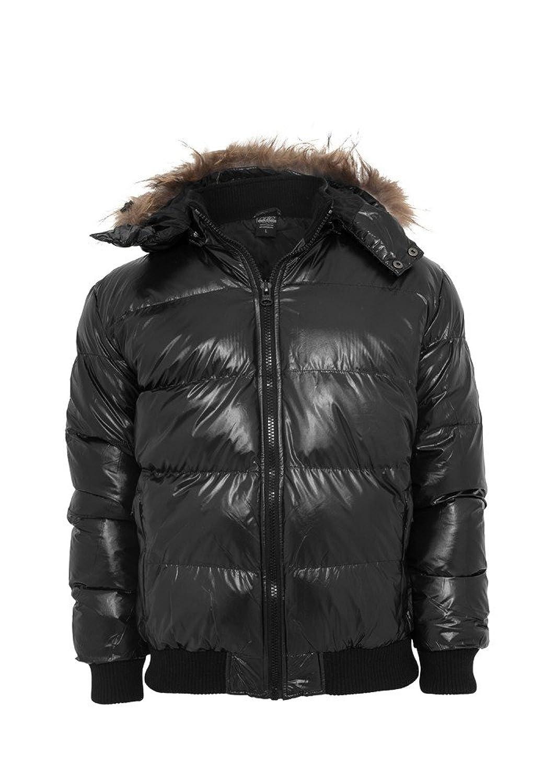 TB341 Hooded Bubble Fur Blouson Herren Winter Jacke Kapuze