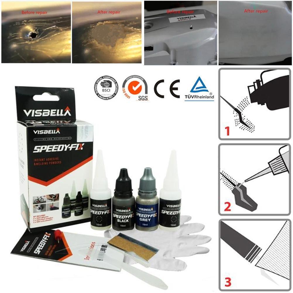 Sistema Adhesivo Adhesivo de plástico líquido 7 segunda ...