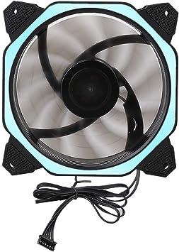 Nany PC Ventilador de refrigeración de computadora DC 12 V Ventilador de disipador de Calor para computadora portátil (Almohadilla de pie/con Tornillo): Amazon.es: Electrónica