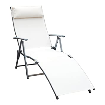 Awesome Amazon Com Globe House Products Ghp Cream White Sling Inzonedesignstudio Interior Chair Design Inzonedesignstudiocom