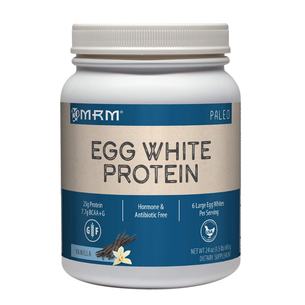 MRM all Natural Egg White Protein, Rich Vanilla 24 Ounce by MRM