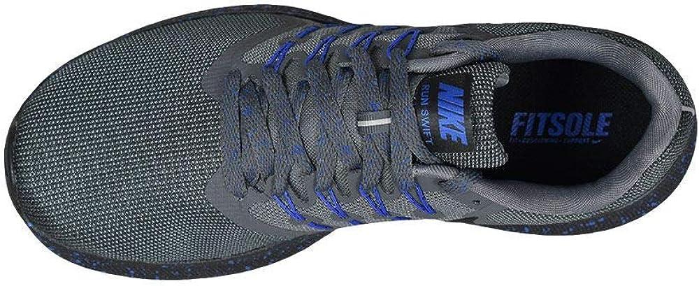 Nike Men's Swift Running Shoe Dark Grey/Black Anthracite Game Royal