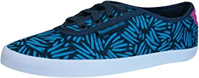 Reebok Classic NC Plimsole Womens Trainers/Shoes - Blue
