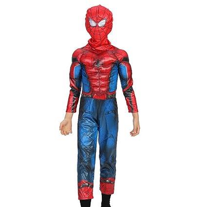 Cosplay Ropa Niño The Amazing Spider-Man Anime Disfraz ...