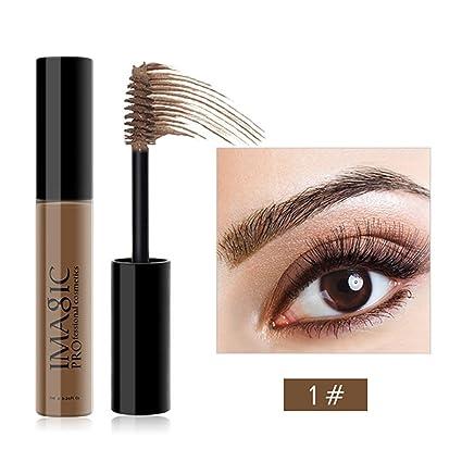 ZHUOTOP IMAGIC 7 ml de larga duración impermeable cejas máscara crema sombra maquillaje belleza herramientas cejas