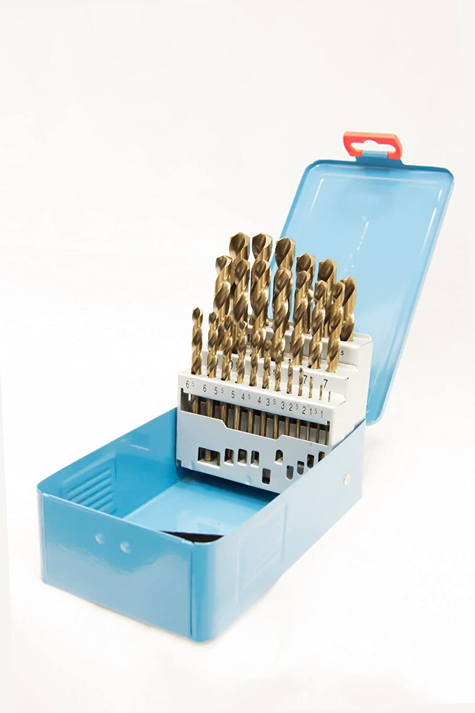 Presto 09501M25 1.0-13mm 0.5 increments Cobalt HSS Drill Set