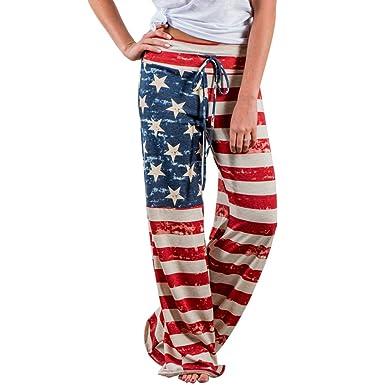 Pantaloni Larghi Donna Vita Alta Baggy Hip Hop Harem Danza Trousers Stampa  Floreale Tuta Jumpsuit Boho 31a87024d000