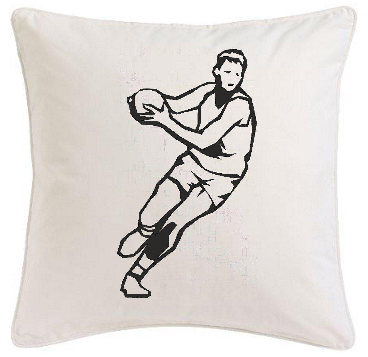 funda de la almohada 40x40cm Balonmano Fútbol Voleibol Baloncesto Deporte microfibra ... regalo ideal y la decoración de buen gusto para cada salón o el ...