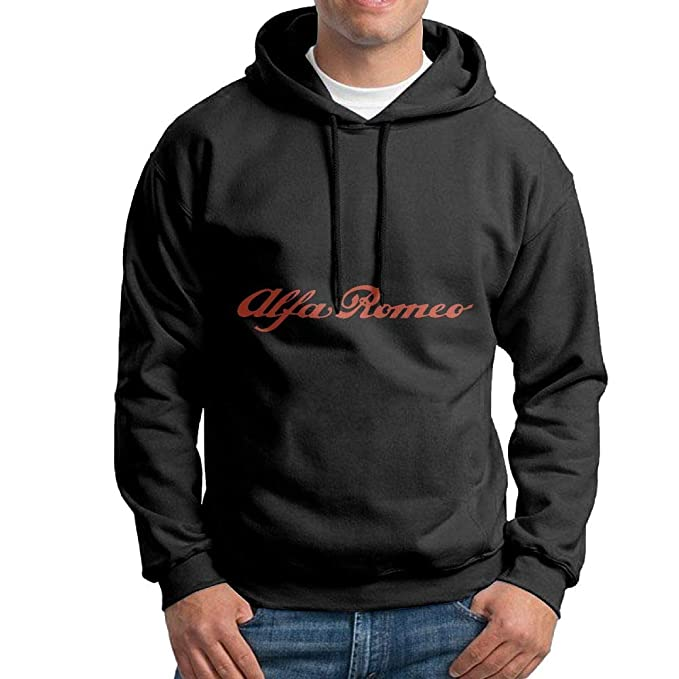 Amazon Com Men S Hoodies Alfa Romeo Logo Best Pullover Hooded Print