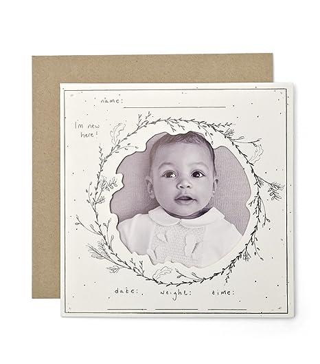 Mamas & papas - Tarjeta de felicitación para bebé (6 ...