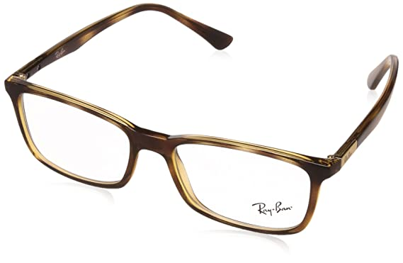 Ray-Ban Full Rim Shield Men\'s Spectacle Frame - (0RX7127II201253|53 ...