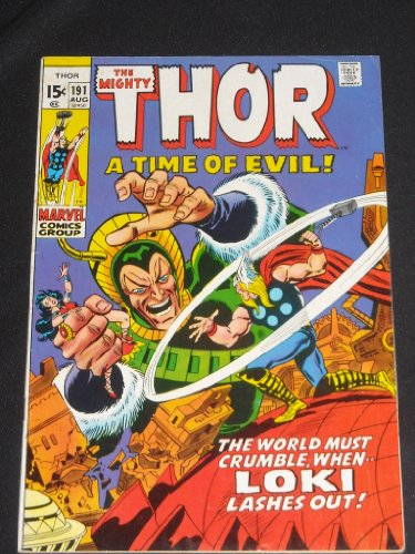 Mighty Thor # 191 Bronze Age Comic Book Buscema