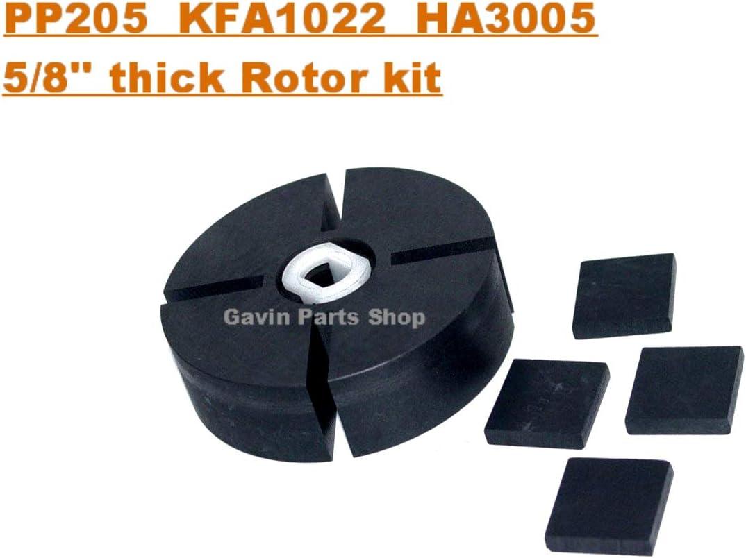 M22009 DESA Pinnacle GHP Drive Key Rotor Insert 6 Pack PP204 PP205 70-022-0100