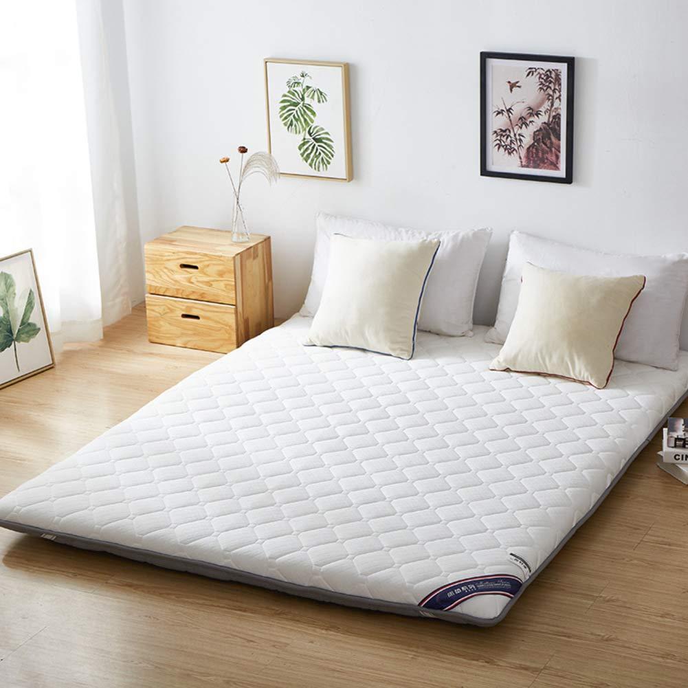 B 180x200cm(71x79inch) Thicken Mattress,10cm Foldable Non-Slip Elasticated Corner Straps Mattress,Tatami Mattress-B 180x200cm(71x79inch)