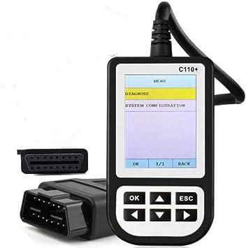 New Creator C110 V6.0 OBDII Diagnostic Scanner Code Reader Fit For BMVV