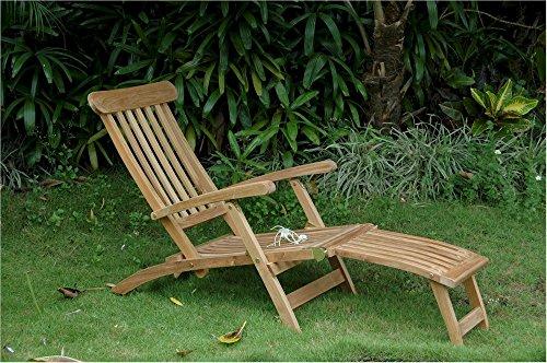 Anderson Teak ST-124 - No Cushion Royal Steamer Armchair (Chair Steamer Teak Cushions Lounge)