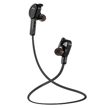 Auriculares Bluetooth, Coolife Auriculares Inálambrico Deporte con Micrófono Incorporado Bluetooth 4.1 Diseño Totalmente Cerrada con