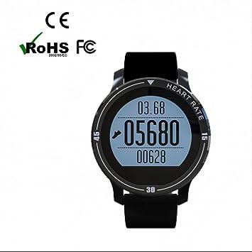 Reloj Deportivo con Podómetro con Notificación de WhatsApp ,Monitor de Sueño y Calorías,Sleep