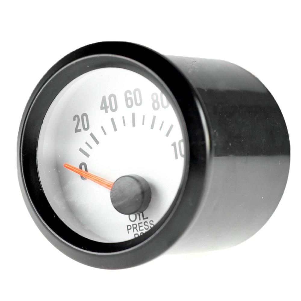 Mintice Auto 2' 52mm Universale pointer Led blu indicatore di tensione Volt Calibro 12V