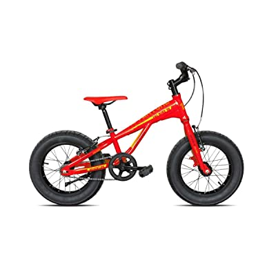 "'Torpado vélo Junior 16 ""Fat Shark acier 1 V Rouge (enfant)/Bicycle Junior 16 Fat Shark Steel 1 V Red (Kid)"