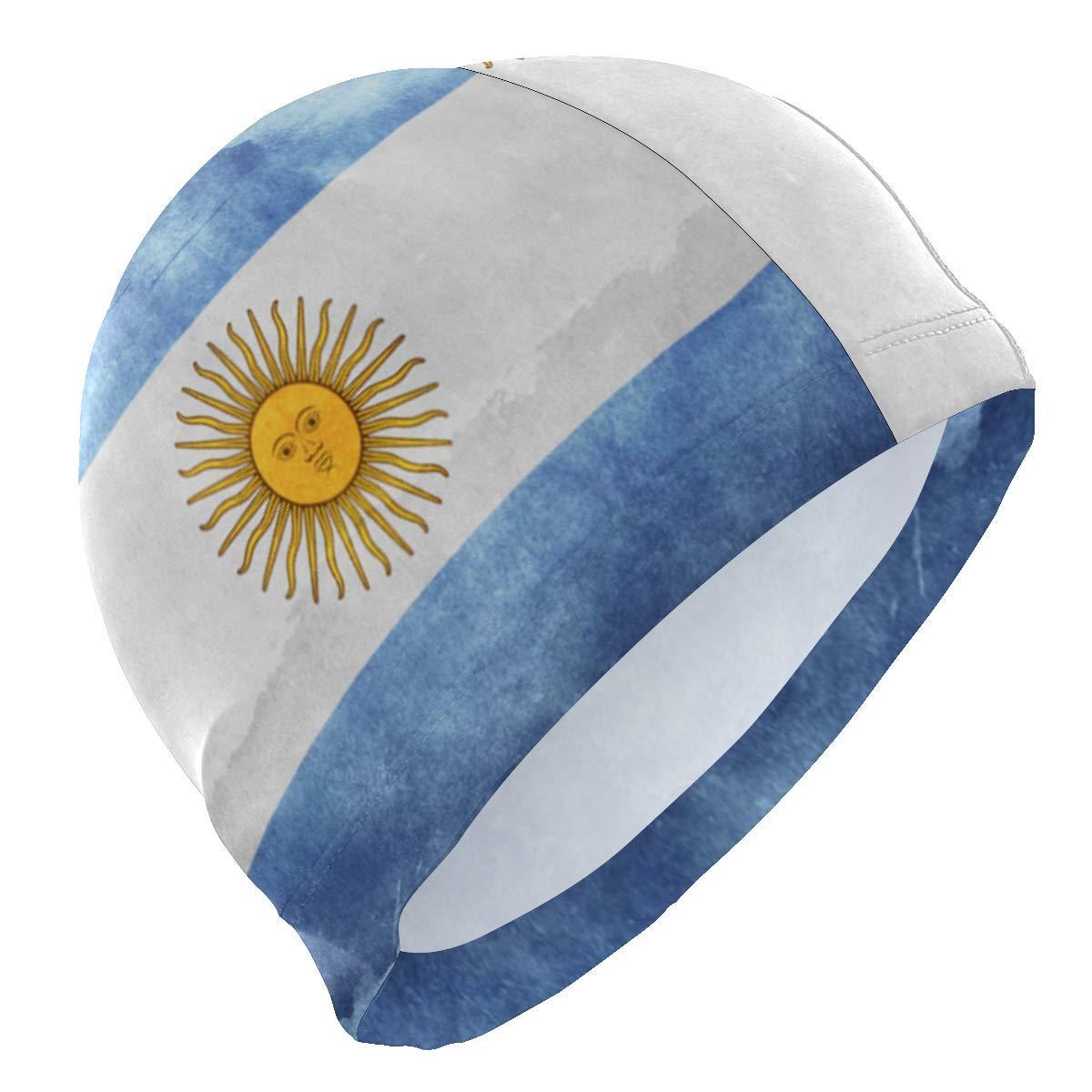 itruty Argentina Flag Retro Lycra Gorra de baño Swimming for Women ...