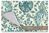 Cala Home 24-Pack Disposable Paper Placemats, Grand Palampore